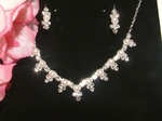 Ava - Elegant Pearl Necklace Set