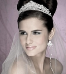 Azami - Royal Collection Swarovski crystal tiara - SPECIAL one left