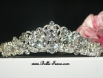 Beautiful bold Swarovski crystal princess tiara - SPECIAL --
