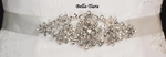 Beautiful Crystal Belt in Silver or Light Gold