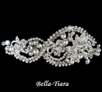 Beautiful Crystal & Pearl Headpiece with Clip