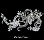 Beautiful Crystal & Pearl Wedding Clip