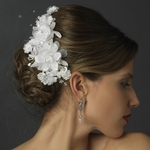 Beautiful - Elegant wedding clip Flower with Rhinestone - SPECIAL