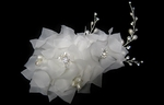 Beautiful  JESSICA MCCLINTOCK ivory wedding flower hair accessory - SALE