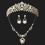 Beautiful Princess tiara and necklace set -SALE!! (Gold or Silver)
