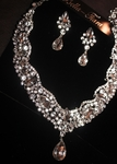 Beautiful rhinestone crystal statement necklace set - SPECIAL ONE LEFT