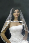 Beautiful Royal Romantic lace edge Bridal veil - SALE