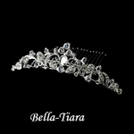 Selia - Beautiful scroll communion headpiece - SALE
