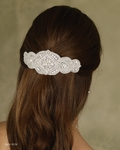 NEW!! Beautiful Silver Rhinestone Hair Clip
