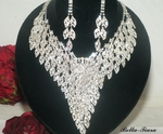 Belfiore - STUNNING Statement swarovski necklace set - SPECIAL one left