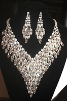 Belfiore - STUNNING Statement swarovski necklace set - SPECIAL -one left
