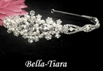 Bellina - BEAUTIFUL swarovski crystal and pearl headband - SALE