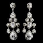 Bellissima - Royal Collection - COUTURE CZ  Chandelier Earrings - SPECIAL one left!!