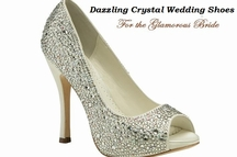 Benjamin Adams Crystal Wedding Shoes