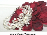 Beth - Romantic Freshwater pearl bridal bracelet - SALE!! - SOLD