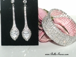 Blossom - Elegant Swarovski earrings and bracelet set - AMAZINGLY PRICED!!!