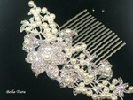 Boutique - STUNNING swarovski crystal pearl hair comb - SPECIAL PRICE