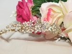 Breathless - Gold/IVORY Pearl Dreams Wedding Tiara