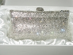 Breathless - STUNNING Swarovski crystal evening purse - SPECIAL