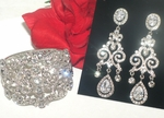 Breathtaking chandelier earrings &  jewelry - Amazing Price!!