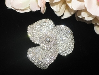 Brillante - AMAZING Swarovski crystal brooch- SALE!!
