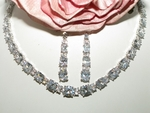 Cameo - NEW!! Stunning Cubic Zirconia wedding necklace set - SALE