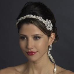Cara - Stunning Royal Collection Crystal Ribbon headband - SPECIAL few left