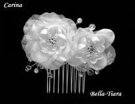 Carina - Beautiful delicate flower comb
