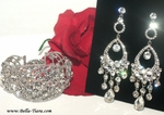 Carmelina - Gorgeous Icicle Swarovski crystal set - SPECIAL one set left