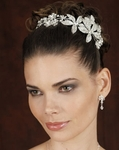 Carmen - COUTURE Edward Berger Side Headpiece - SALE!!