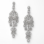 Caroline - Beautiful Rhinestone Chandelier Earrings - SALE!!