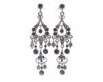 Caroline - Gorgeous Amethyst chandelier earrings - <i> Multiple Discount</i>