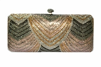 Cassiana - Empress Swarovski crystal evening bag - SALE