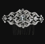 Catarina - Vintage romantic emerald cut comb - Special!!