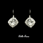Celeste - Simple elegant beauty CZ drop earrings - SALE!!