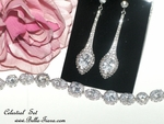 Celestial - Stunning Elegant Swarovski crystal earrings - SALE