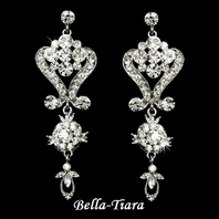 Chloe-- Rennaissance rhinestone Chandelier earrings - SALE!!