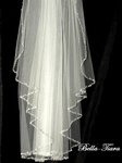 Cinderella - Royal collection - Crystal cathedral wedding veil - SALE