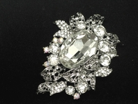 Cinzia - Beautiful bold vine Crystal bridal hair comb - SALE!!! two left