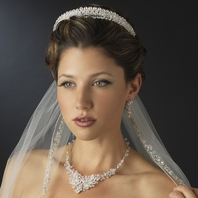 Clarise - Elegant Swarovski crystal wedding headband - SALE