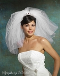 Couture beauty bridal veil