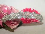 Couture design floral swarovski crystal headband tiara - SALE