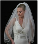 Couture Elegance Beaded Veil
