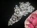 Couture - SPECTACULAR Twilight Swarovski crystal hair comb - Amazingly priced