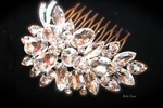 Criana - Glamorous swarovski crystal wedding hair comb