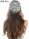 Cristelle - Royal Collection dramatic swarovski hair comb - ONLY 2 LEFT
