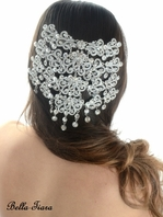 Cristelle - Royal Collection Swarovski crystal wedding headpiece - SPECIAL one left