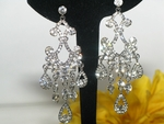 Dana - Elegant Victorian Chandelier Earrings - SPECIAL two left
