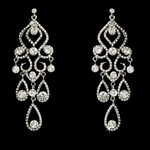 Daria-Glamorous Crystal Chandelier Earrings - SPECIAL one left