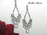 Dazzle - Royal Collection-Swarovski crystal Chandelier Earrings - SALE!!
